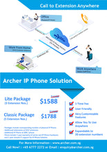 Load image into Gallery viewer, Archer IP Phone Solution - IP PBX