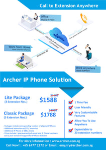 Archer IP Phone Solution - IP PBX