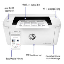 Load image into Gallery viewer, HP LaserJet Pro M15w Printer