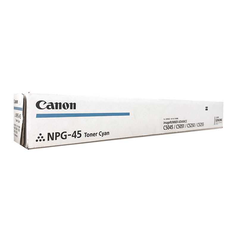NPG-45 Canon Toner Cartridge for ImageRunner Advance C5045 / C5051 / C5250 / C5255.(Cyan)