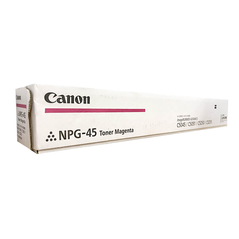 NPG-45 Canon Toner Cartridge for ImageRunner Advance C5045 / C5051 / C5250 / C5255 (Magenta)