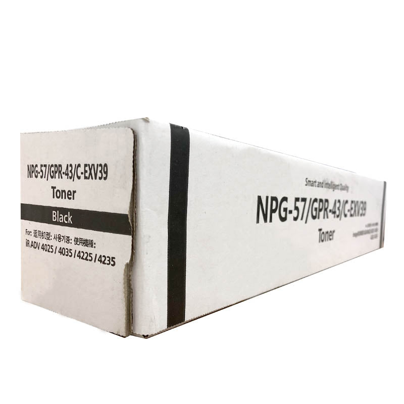 NPG-57 / GPR43 / C-EXV39 Compatible Toner Cartridge for Canon IR ADV 4045 / 4051 (Black)
