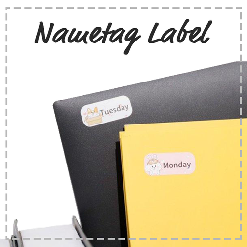Printeet M110 | Nametag Label Bundle