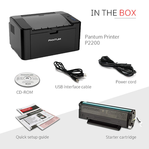 PANTUM P2500W Mono Laser Printer Free! Paper One