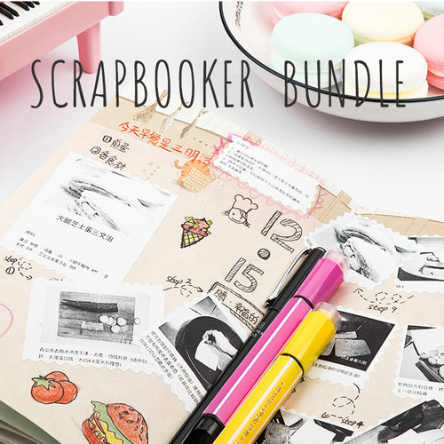 Printeet M02 Scrapbooker Bundle Package I Portable Thermal Printer