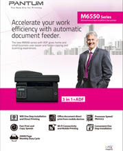 Load image into Gallery viewer, PANTUM M6550NW Mono Laser Printer (All-in-one)