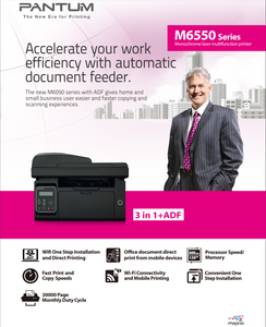 PANTUM M6550NW Mono Laser Printer (All-in-one)
