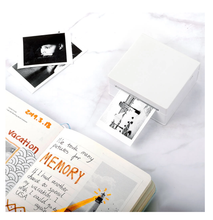 Load image into Gallery viewer, Portable Thermal Printer I Printeet M02 (Matt White)