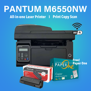 Pantum M6550NW Mono Bundle with Free! Paper One