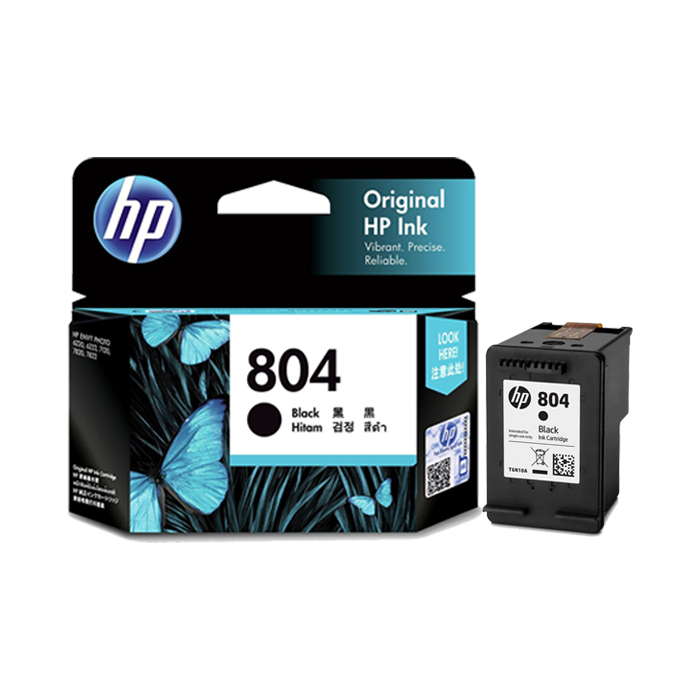 T6N10AA - HP 804 Black Original Ink Cartridge