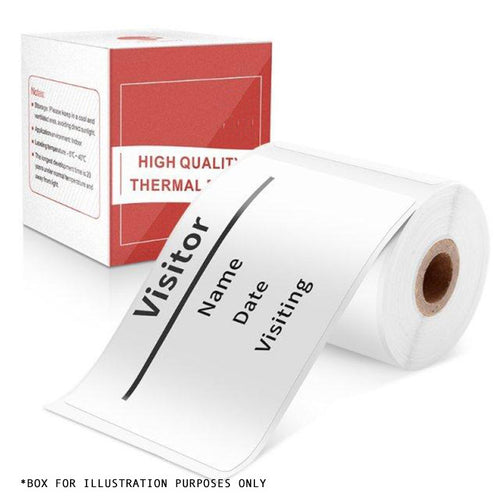 Multi-Purpose Square Self-Adhesive Label- 50x80mm Compatible for Printeet M110