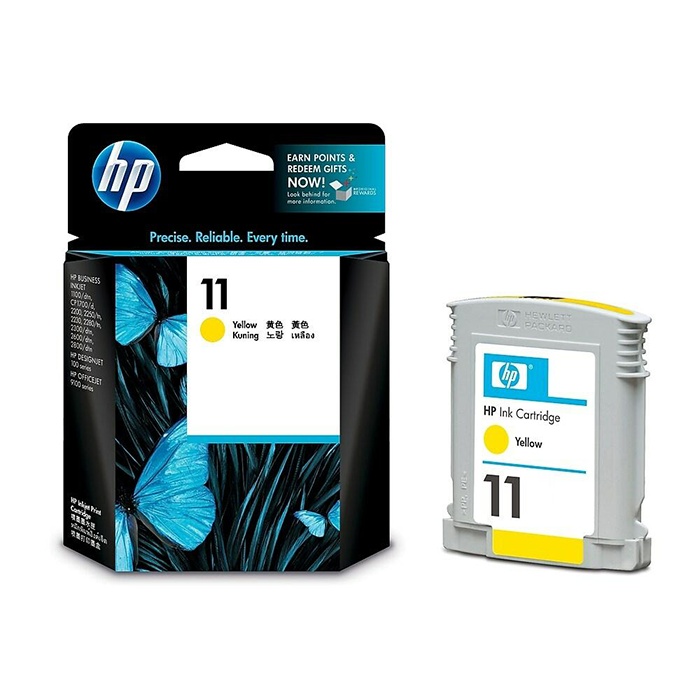 C4838A - HP No 11 Yellow Ink Cartridge