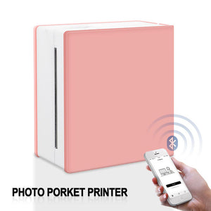 Portable Thermal Printer I Printeet M02 (Matt Pink)