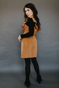 Hey Pumpkin Corduroy Dress