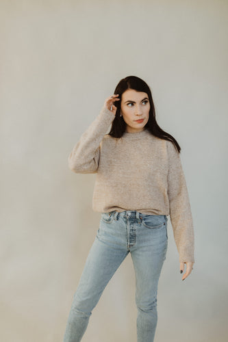 The Classic Taupe Sweater