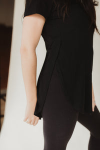 Your Basic Short Sleeve Tunic