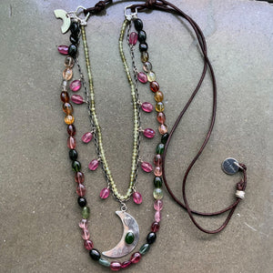 SOLD: Tourmaline Change Necklace