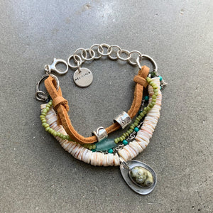SOLD:  Breathe into Being Bracelet