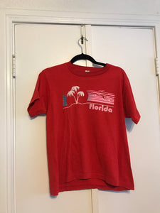 Red Florida Tee - M