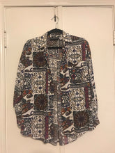 Paisley Button Up - Small