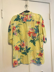 Yellow Hawaiian Tee - XL