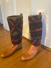 Leather & Wool Boots - 7.5