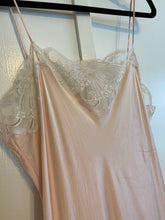 Pink Silk Drop Waist Dress