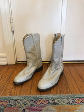 Off White Cowboy Boots - 7