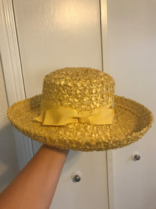 Yellow Ribbon Hat