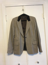 Plaid Blazer - Large