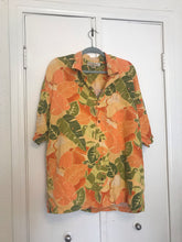 Orange Hawaiian Shirt