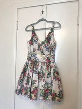 Floral Flounce Mini Dress