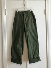Army Green Military Pants - 24/25