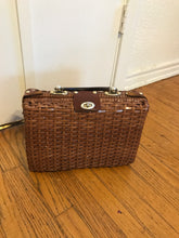 Brown Wicker Bag