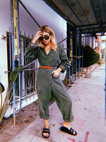 Army Green Boiler Suit