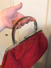 Red Clasp Bag