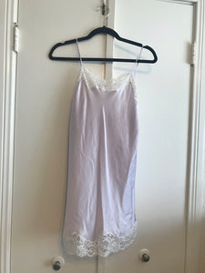 Purple Lace Slip Dress