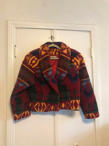 Cropped Navajo Jacket