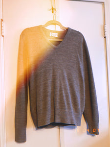 Grey Dior Sweater