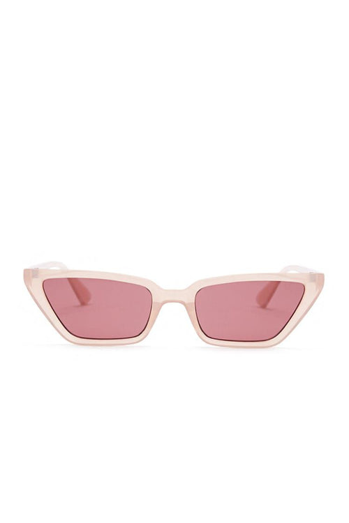 Translucent Cat-Eye Sunglasses | Forever 21