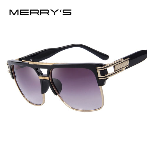 Men's Vintage Oversize Square Sun Glasses