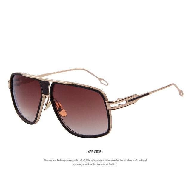 Men's Vintage Big Frame Summer Style Sun Glasses | The Shade Box