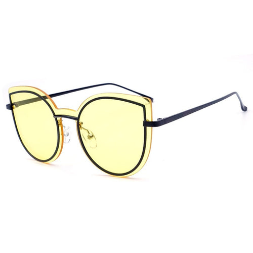 Unisex Multi color Outlined Fashion Sunglasses