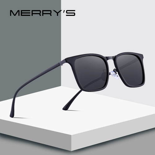Men's Square Polarized Ultra-light Series Sunglasses