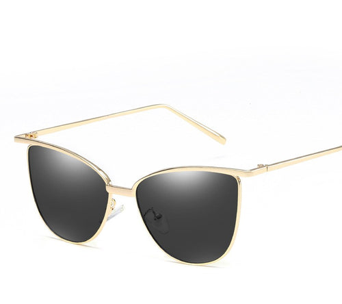 Cat eye women's fashion trend sunglasses