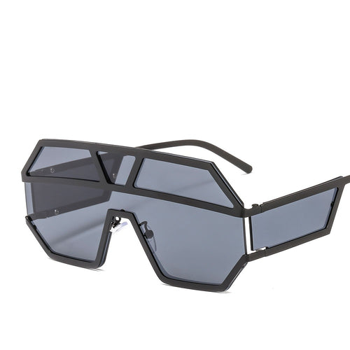 Big Frame Piece  Marine unisex Fashion Sunglasses