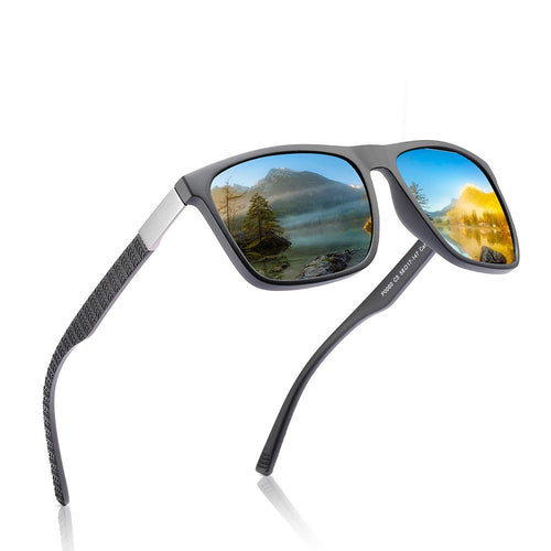 Casual Box Scrub men's Polarized Sunglasses