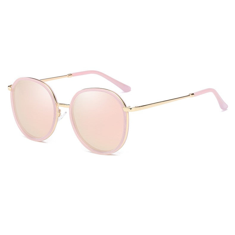 Women's Polarized Trendy Round Frame Sunglasses | The Shade Box