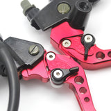 Universal pumps and levers for motorcycle brake and clutch D22 mm