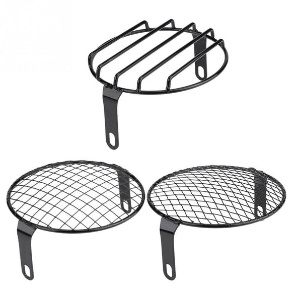 Round grill cover mask